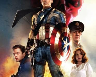 Captain America - The First Avenger 2011 Poster