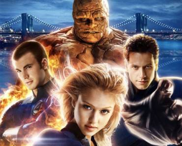 Fantastic Four 2005 Poster