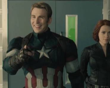 Avengers Age of Ultron Gag Reel mit Captain America und Black Widow