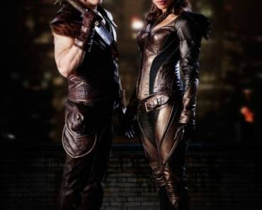 Hawkman und Hawkgirl aus der Serie DC Legends of Tomorrow, Quelle The CW - © All Rights Reserved