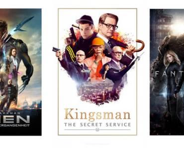 Kingsman - X-Men Die Zukunft ist Vergangenheit - Fantastic Four
