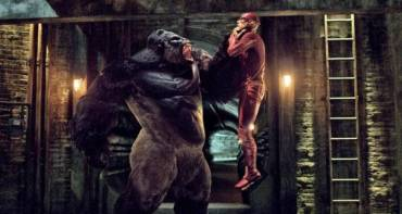 Grodd gegen The Flash in The Flash Staffel 2 Quelle Amazon Prime