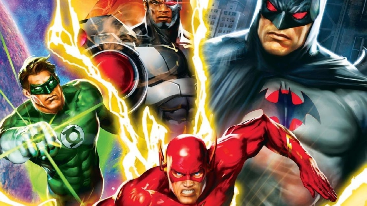 justice league the flashpoint paradox 2013 film
