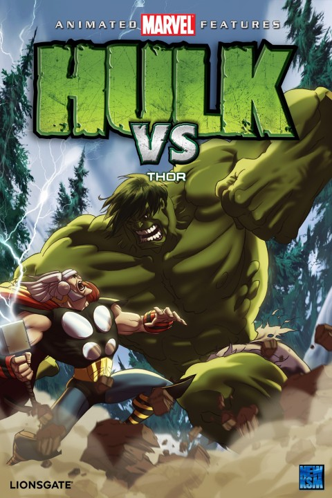 hulk vs thor film marvel 2009