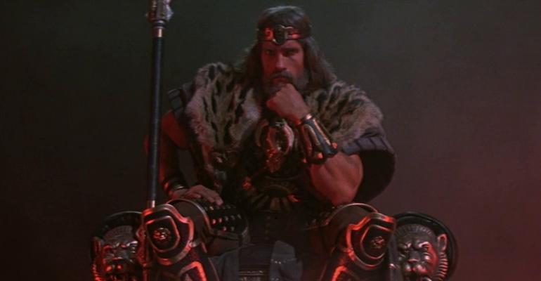 Arnold Schwarzenegger bereit für Conan 3: The Conquerer