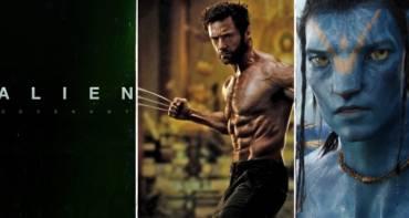 Prometheus 2 Alien Covenant Wolverine 3 Avatar 2