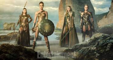 Wonder Woman Ancient with queen Hyppolyta