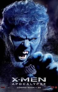 X-Men-Apocalypse-Charakter-Poster-Beast