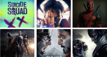 Die besten Superhelden Filme 2016 von Marvel und DC