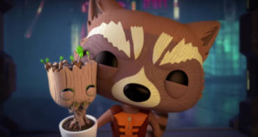 Guardians Of The Galaxy - Root und Rocket Funko Pop!