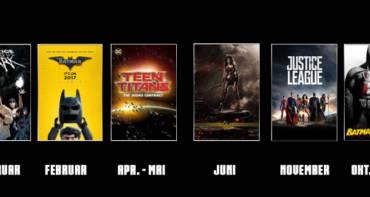 DC Filme 2017 - Welche DC Filme kommen demnächst im Kino?