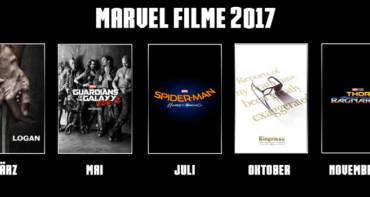 Marvel Filme 2017 - Welche Marvel Filme kommen demnächst im Kino?