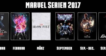 Marvel Serien 2017 - Welche Marvel Serien kommen demnächst auf Netflix und Co