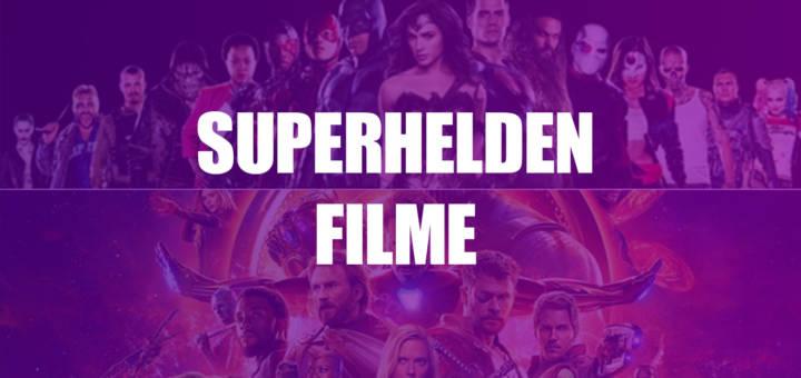 Alle Superhelden Filme Reihenfolge und Liste Headerbild