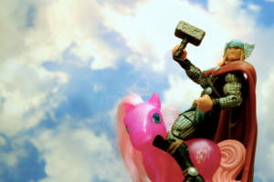 Thor on Pony says Hello World!