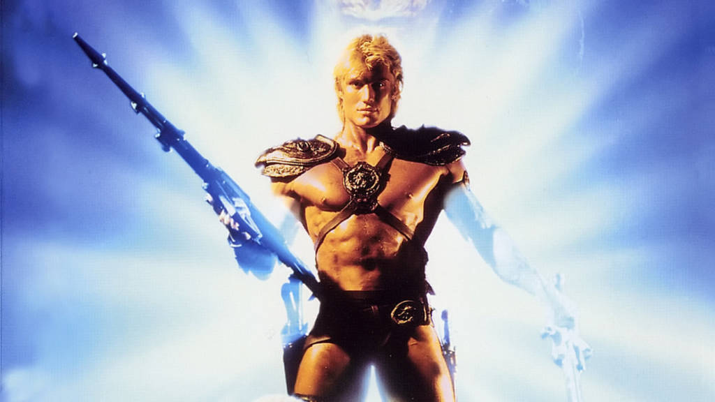 Masters of the Universe Film, He-Man © 1987 Cannon Group − All right reserved.