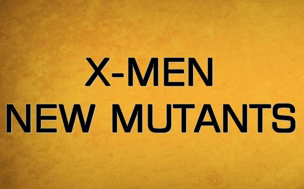 X-Men New Mutants Film Teaser