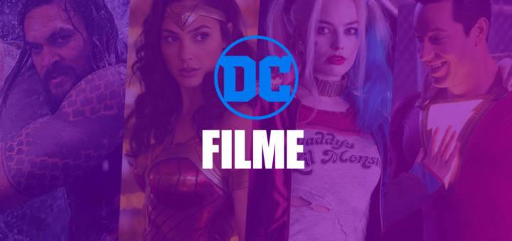 DC Filme - Reihenfolge und Liste