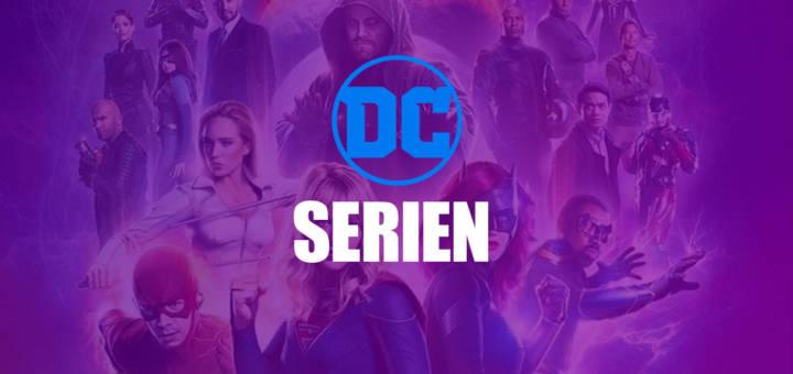 DC Serien Liste Übersicht Headerbild