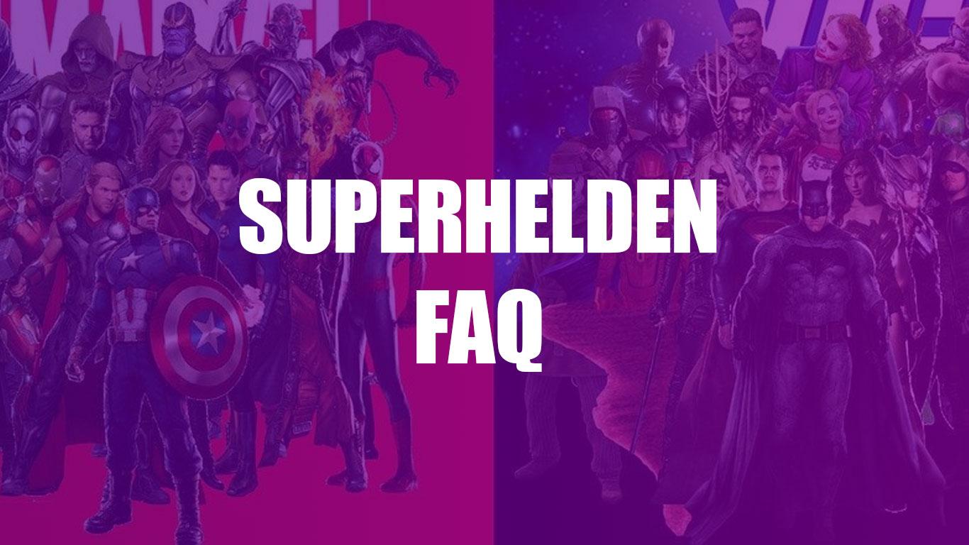 Superheld FAQ Definition