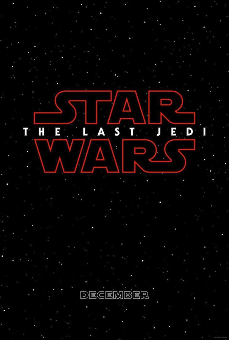 Star Wars Episode 8: Der letzte Jedi Poster