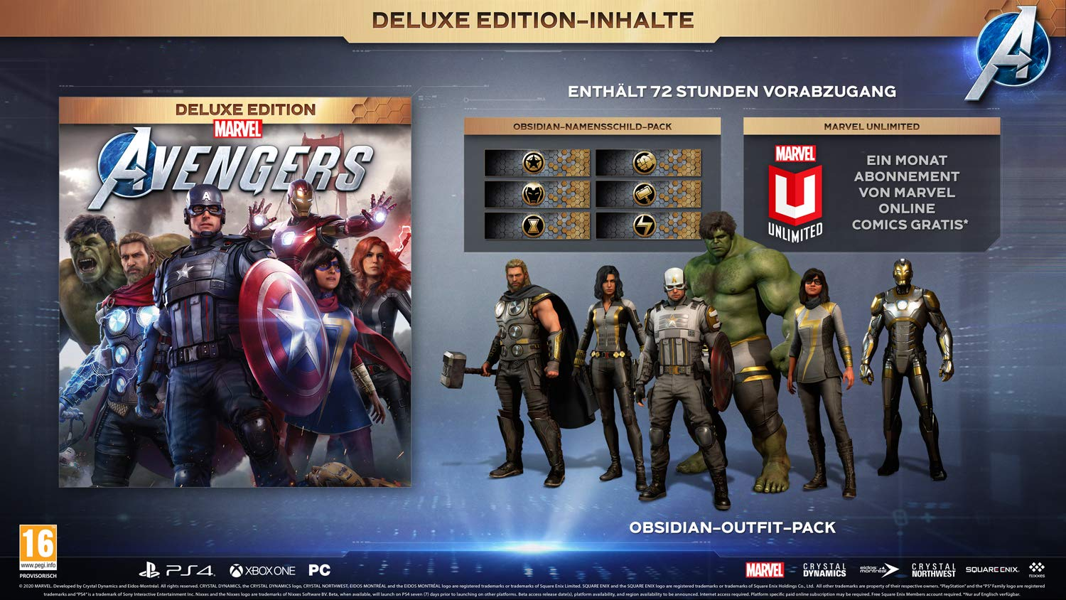 Marvel's Avengers Game Deluxe Edition