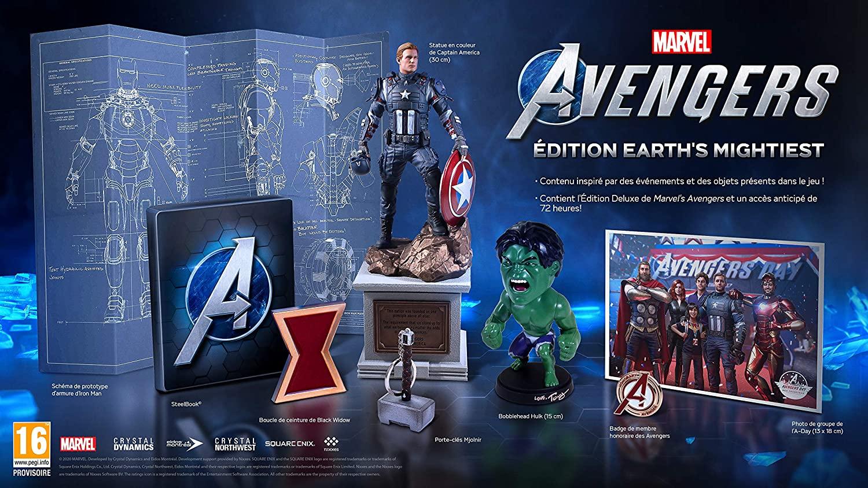 Marvels Avengers Spiel Earths Mightiest Edition